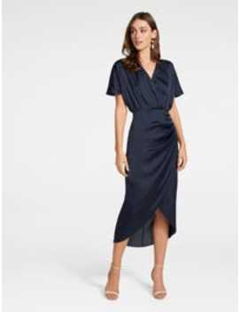 Trudy Wrap Batwing Midi Dress by Forever New