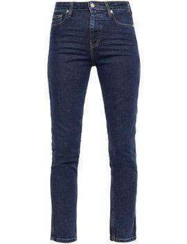 Thilus High Rise Slim Leg Jeans by Iro