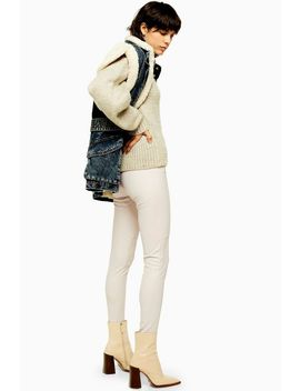Idol Skinny Biker Pu Trousers by Topshop
