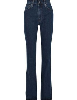 High Rise Bootcut Jeans by Helmut Lang
