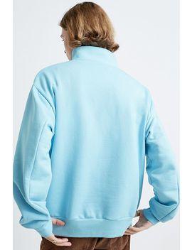 Ss:Sweet Sktbs '90s – Locker Geschnittenes Sweatshirt Mit Reißverschluss In Blau by Sweet Sktbs Shoppen