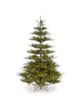 National Tree Company 7.5 Ft Pre Lit Power Connect Glenwood Fir Tree With Clear Lights by Lowe's