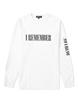 Midnight Studios Long Sleeve I Remember Nothing Tee by Midnight Studios
