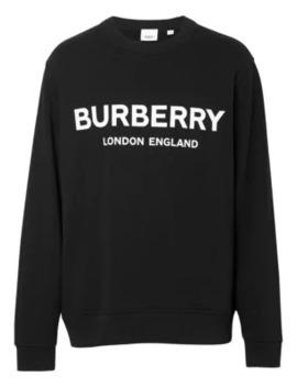 Logo Sweatshirt by Burberry
