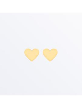 14k Gold Heart Studs                                        Sweety                                                                                                                                                                                          ... by Ana Luisa