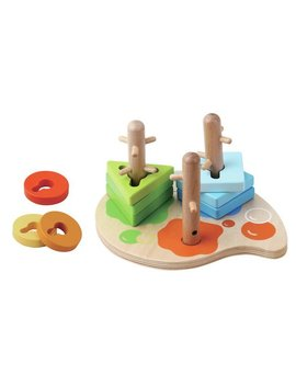 Jumini 10 Piece Peg Puzzle125/6633 by Argos