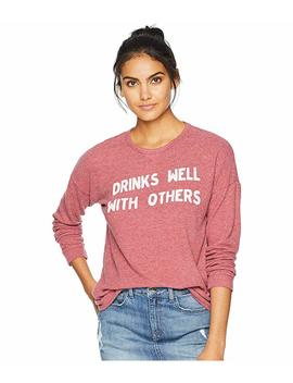 Drinks Well With Others Super Soft Haaci Pullover by The Original Retro Brand