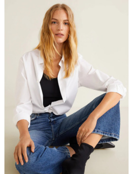 Jeans Relaxed Desgastado by Mango