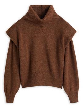 Ribbed Turtleneck Sweater by Mango