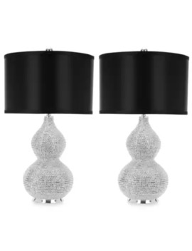 Safavieh Nicole Bead Base Lamp (Set Of 2) by Bed Bath And Beyond
