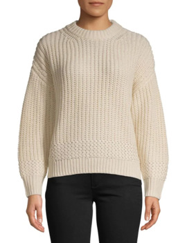Recycled Knit High Crew Neck Sweater by Topshop