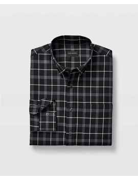 Slim Noveau Check Shirt by Club Monaco