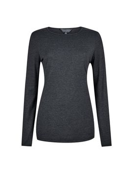**Tall Grey Long Sleeve Top by Dorothy Perkins