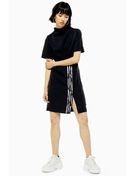 Dc High Neck Three Stripe Dress By Adidas by Topshop