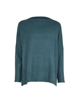 **Only Green High Neck Jumper by Dorothy Perkins