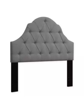 Pulaski Rounded Top Upholstered Headboard by Bed Bath And Beyond