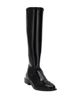 Fendi Neoprene Knee Boots by Fendi