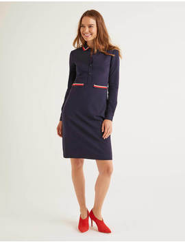 Amber Ponte Dress by Boden