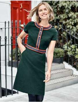 Anna Textured Dress by Boden