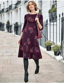 Nancy Ponte Dress by Boden