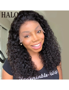 Short Bob Curly 13x4 Lace Front Human Hair Wigs For Black Women Deep Wave Frontal Wigs Pre Plucked With Baby Hair Free Shipping by Ali Express.Com