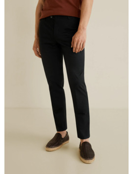 slim-fit-serge-chino-trousers by mango