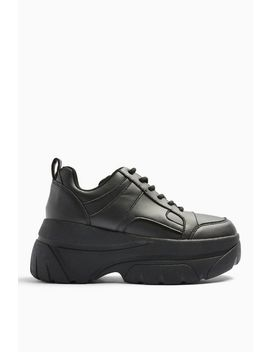 Cali Black Chunky Trainers by Topshop