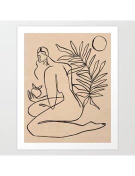 Summer Lines V    Art Print by Society6
