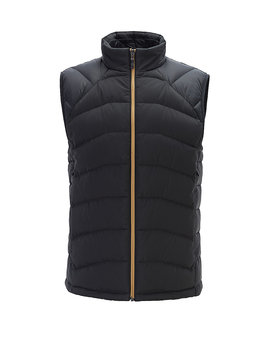 Link² Quilted Gilet With Reflective Details by Boss