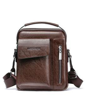 Men's Genuine Leather Shoulder Bag Handbag Fashion Cross Body Messenger Business by Ebay Seller