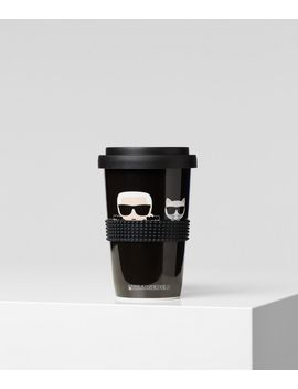 K/Ikonik Takeaway Mug by Karl Legerfeld