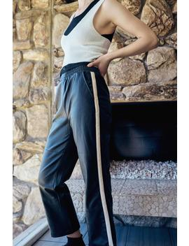 Uo Pria Faux Leather Straight Leg Pant by Urban Outfitters