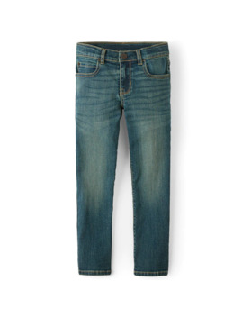 Boys Basic Straight Stretch Jeans by Children's Place