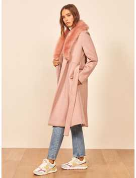 Somerset Coat by Reformation