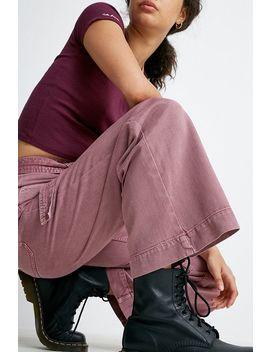 Bdg – Ausgestellte Jeans In Rosa Mit Gürtel by Bdg Shoppen
