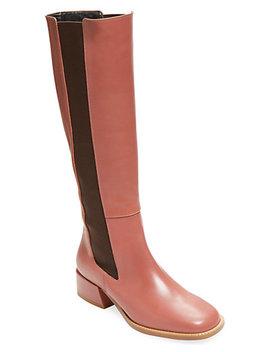 Tibi Amelia Ribbed Boot by Tibi
