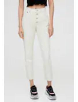 Mit KnÖpfen   Jeans Straight Leg by Pull&Bear
