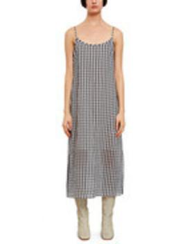 Gingham Cami Dress by Callipygian
