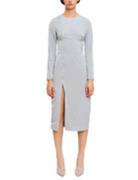 Split Utility Dress by Supriya Lele