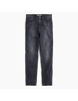 Tall Point Sur Shoreditch Straight Jean In Charcoal Wash by J.Crew