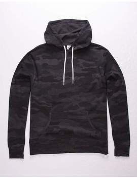 Independent Trading Company Camo Black Mens Hoodie by Independent Trading Company