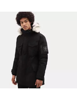 Nordic Edge Expedition Parka For Men In Black by Timberland