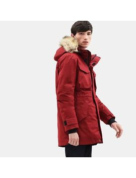 Nordic Edge Expedition Parka For Men In Red by Timberland