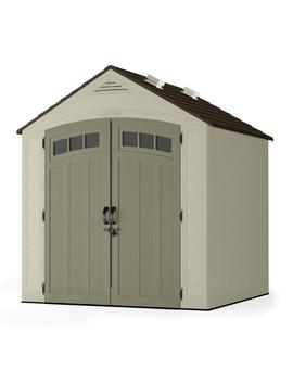 Vista 7 Ft. X 7 Ft. Resin Storage Shed by Suncast