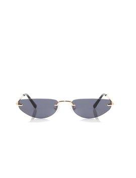 Done Trippin' Sunglasses   Black by Fashion Nova