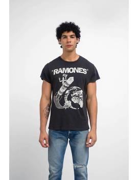Madeworn Ramones Rocket Tee by Garmentory