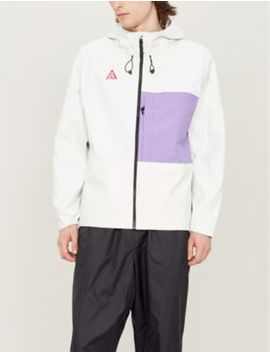 Colour Blocked Packable Shell Hooded Jacket by Nike