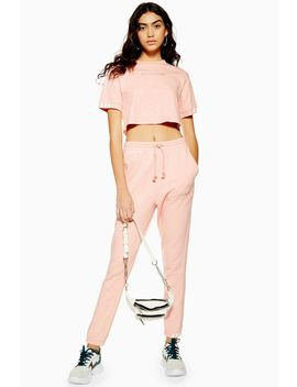 Pink Coeeze Organic Cotton Joggers By Adidas by Topshop