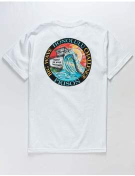 Fresh Vibes Honolulu Prison White Mens T Shirt by Fresh Vibes