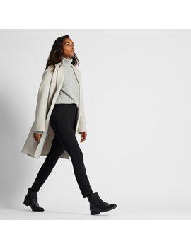 women-heattech-ponte-knit-leggings-trousers by uniqlo